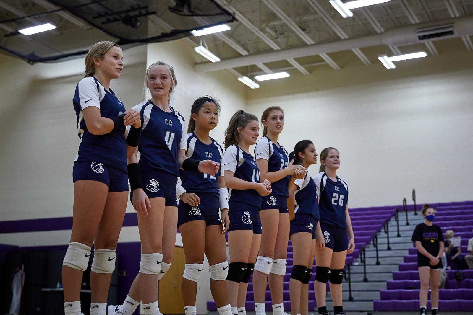 CC Freshman Volleyball at Guerin 2020-9-16