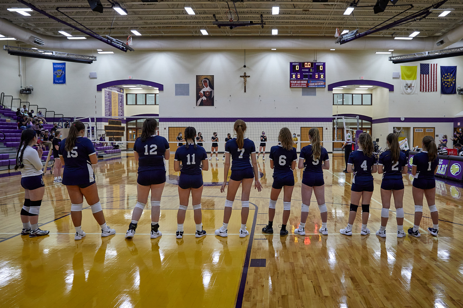 CC JV Volleyball at Guerin 2020-9-16