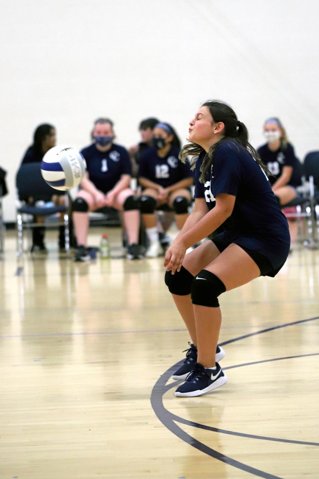 CC 7th Grade Girls Volleyball vs Klondike 9-21-20