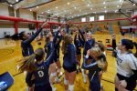 CC Varsity Volleyball Maintains Poise to Edge Clinton Prairie 2020-9-22