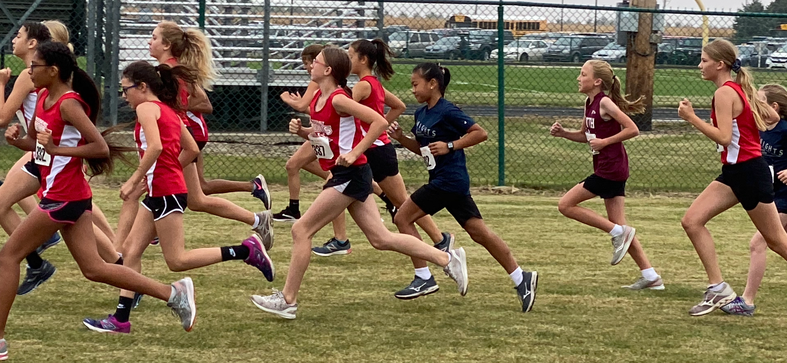 Knights JH Cross Country Compete at WCJC Conference Meet