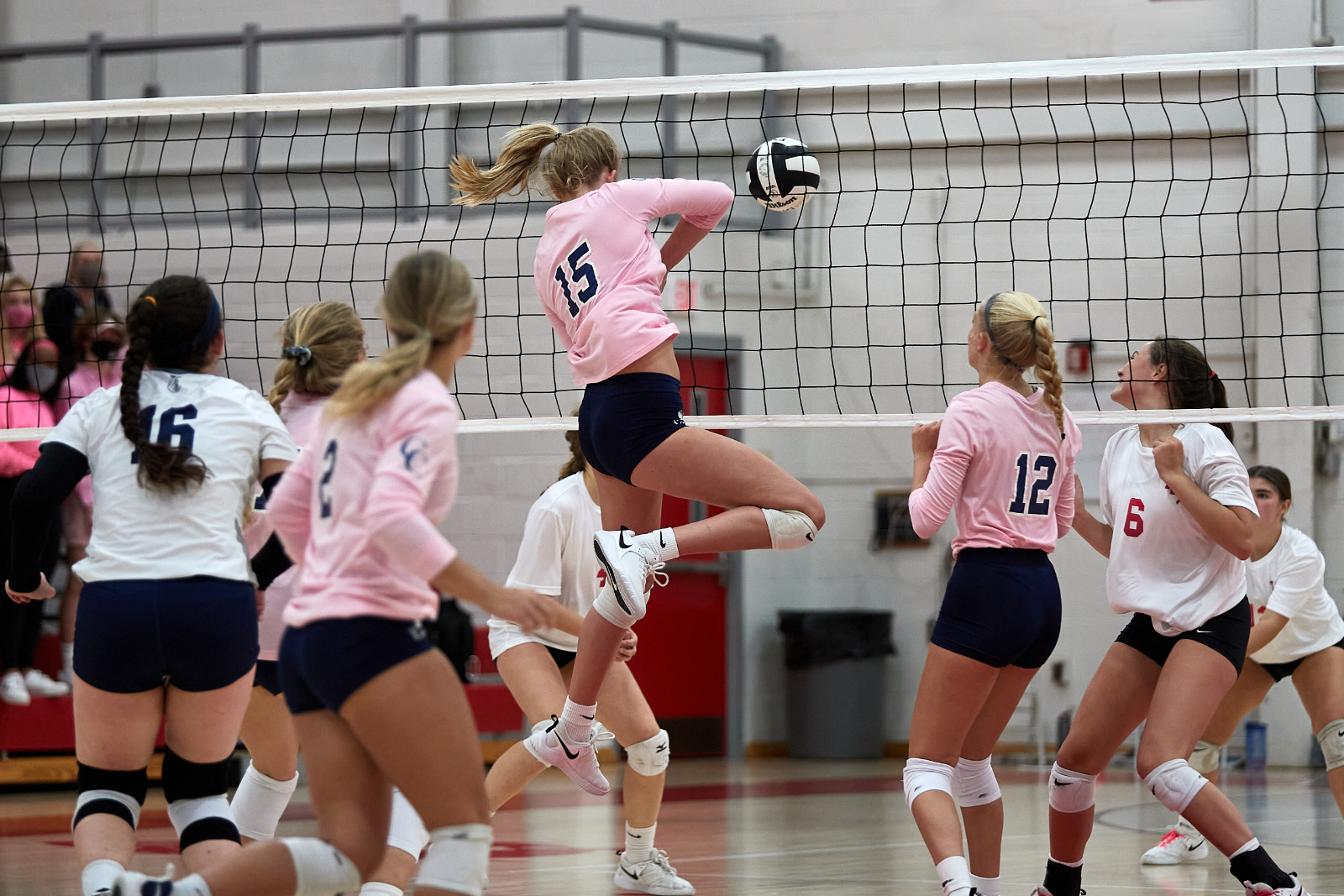 CC and W. Lafayette Volleyball Serve Up Cancer Awareness Night 2020-9-30