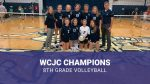 8th Grade Volleyball WCJC Champions