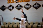 CC JV and Varsity Volleyball Play Last Game at McCutcheon as Covid Ends Season