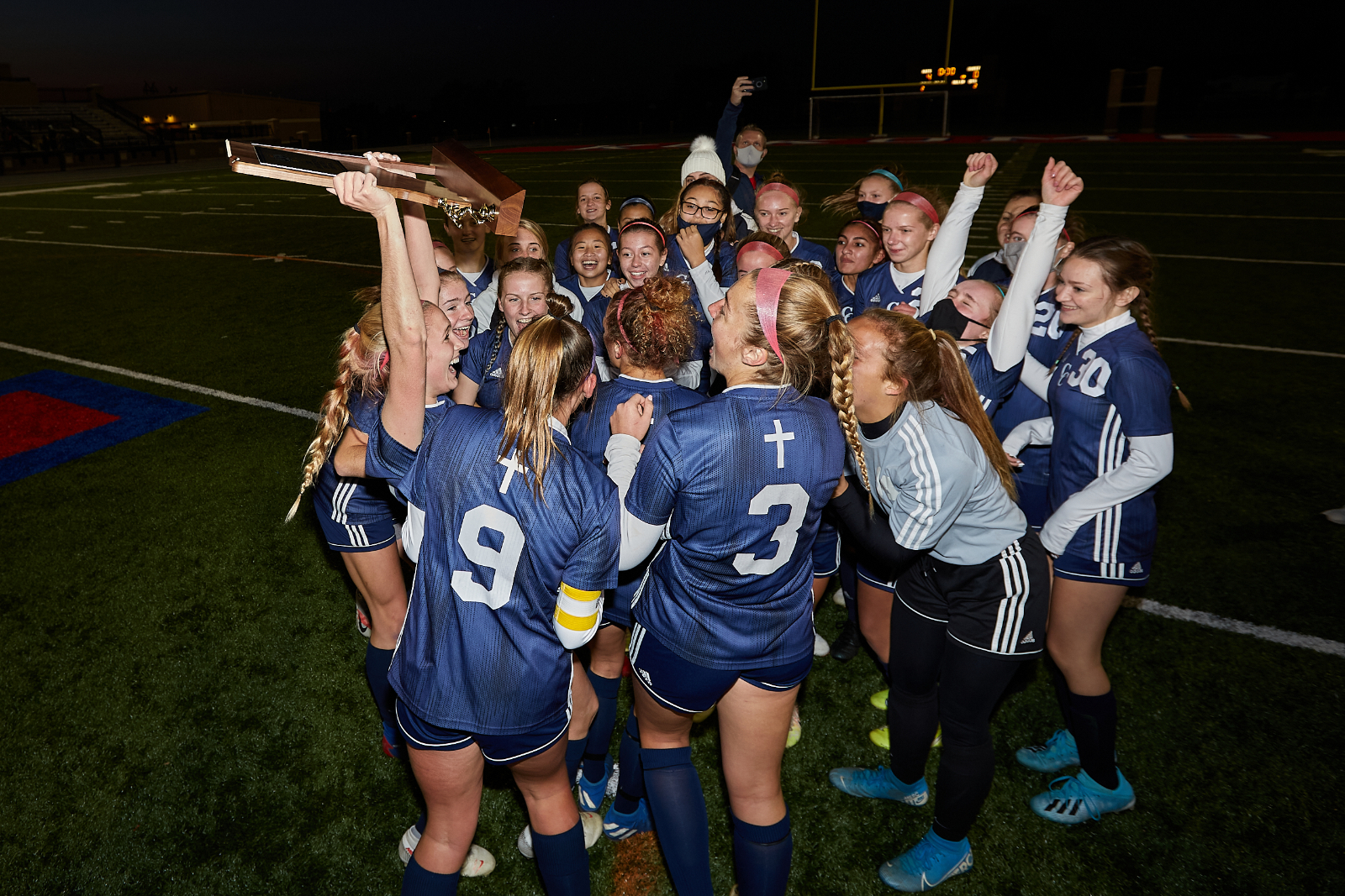 With Win Over Argos CC Girls Soccer Head to State Championship