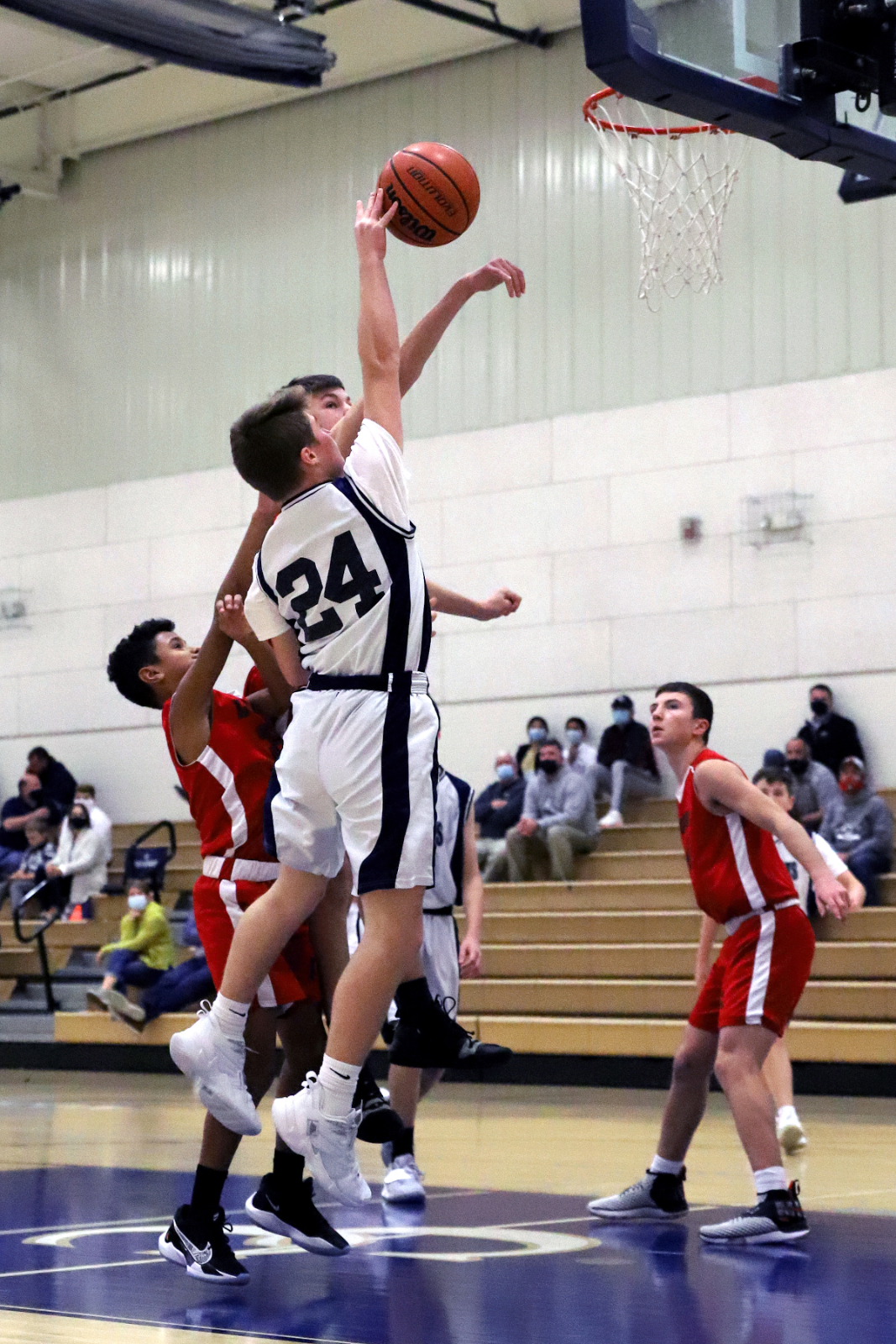 CC 8th Grade Boys Basketball vs Logansport 11-19-20