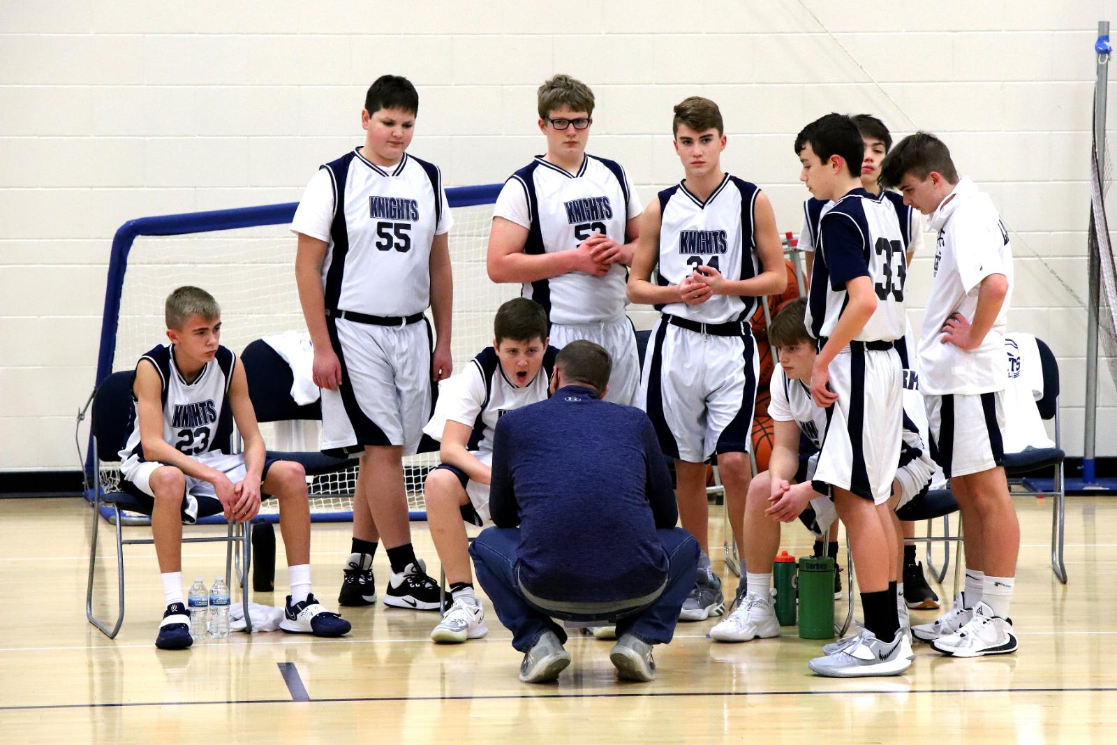 CC 8th Grade Boys Basketball vs Rossville 12-1-20