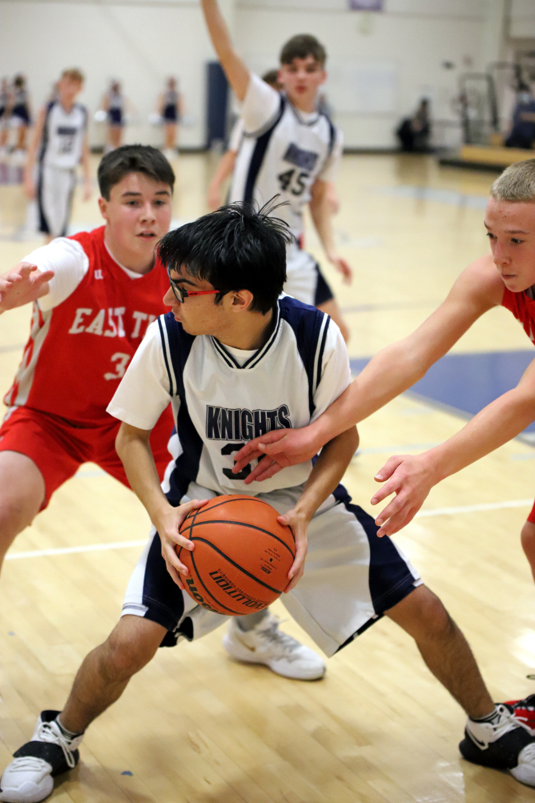 CC 8th Grade Boys Basketball vs East Tipp 12-2-20