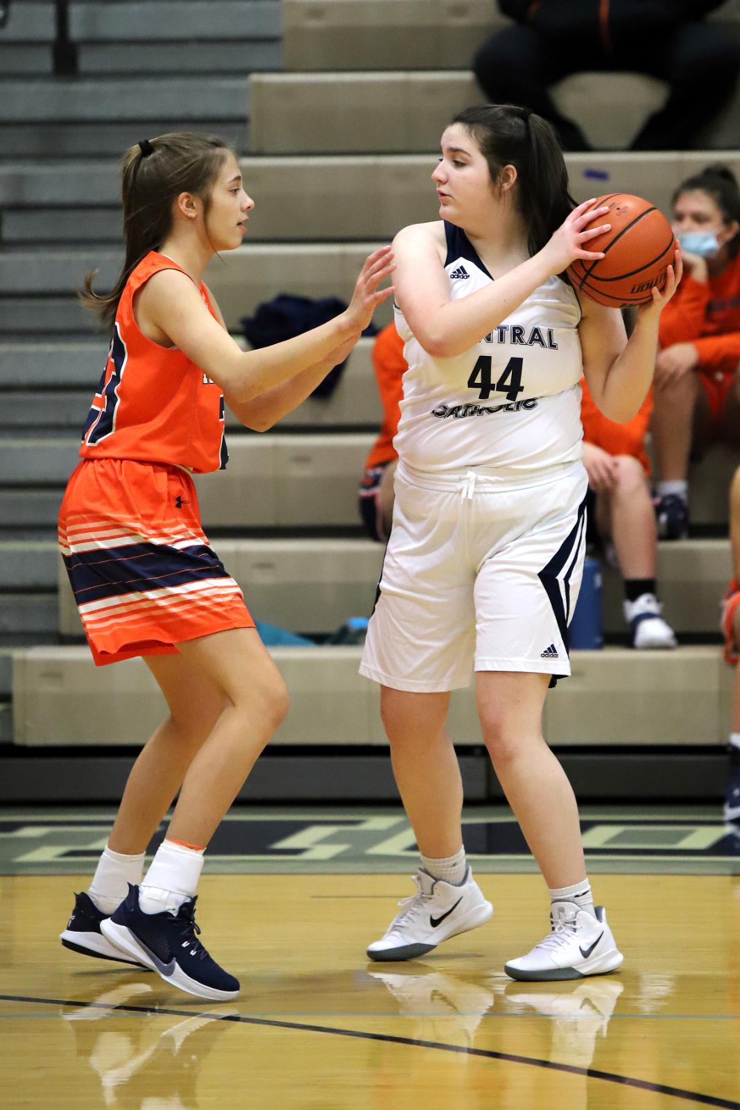 CC JV Girls Basketball vs Harrison 12-2-20