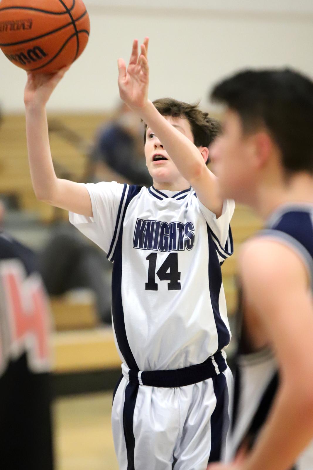 Knights Capture 7th Grade WCJC Championship