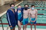 CC Swimming Cheer on Seniors at Jefferson 2020-1-28
