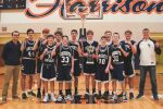 Boys Freshman Basketball wins Area Tournament Championship