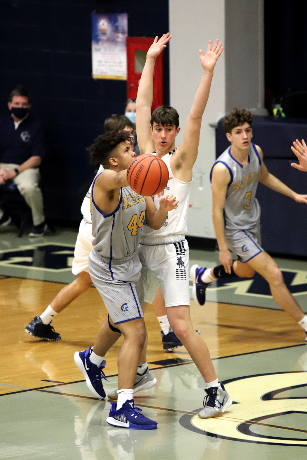 CC Varsity Boys Basketball vs Crawfordsville 2-20-21