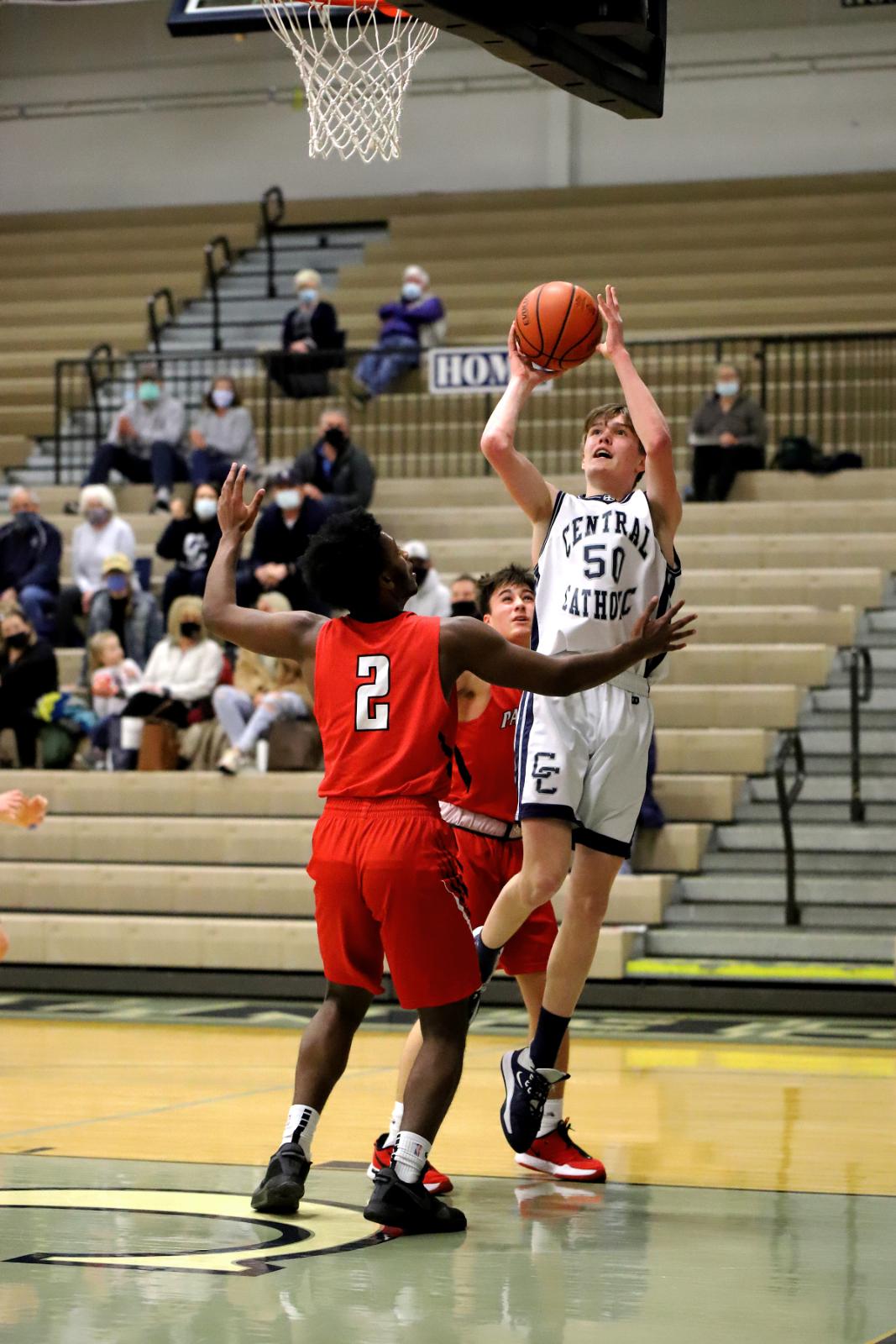 CC JV Boys Basketball vs Park Tudor 2-23-21