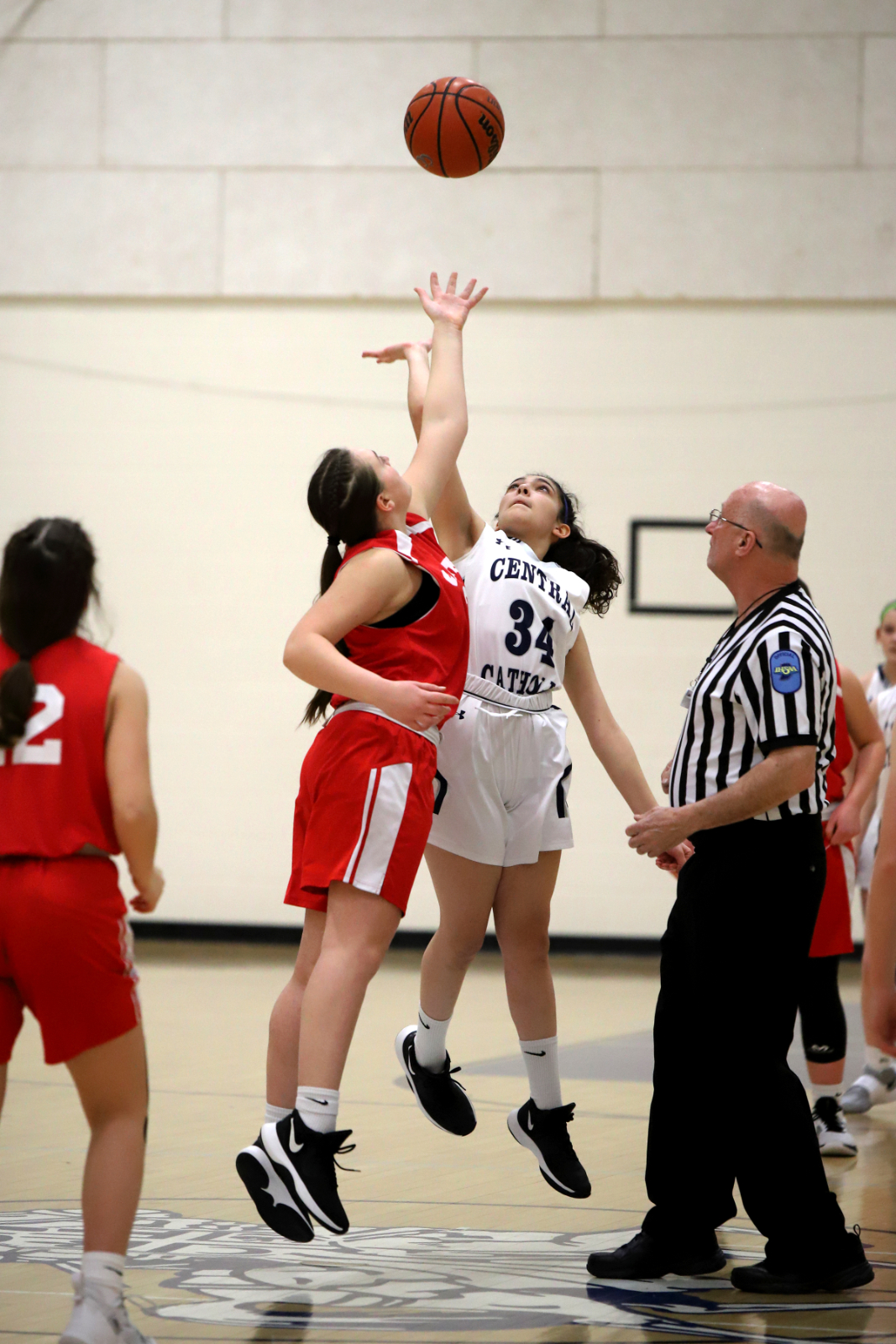 CC 7th Grade Girls Basketball vs Southwestern 2-25-21