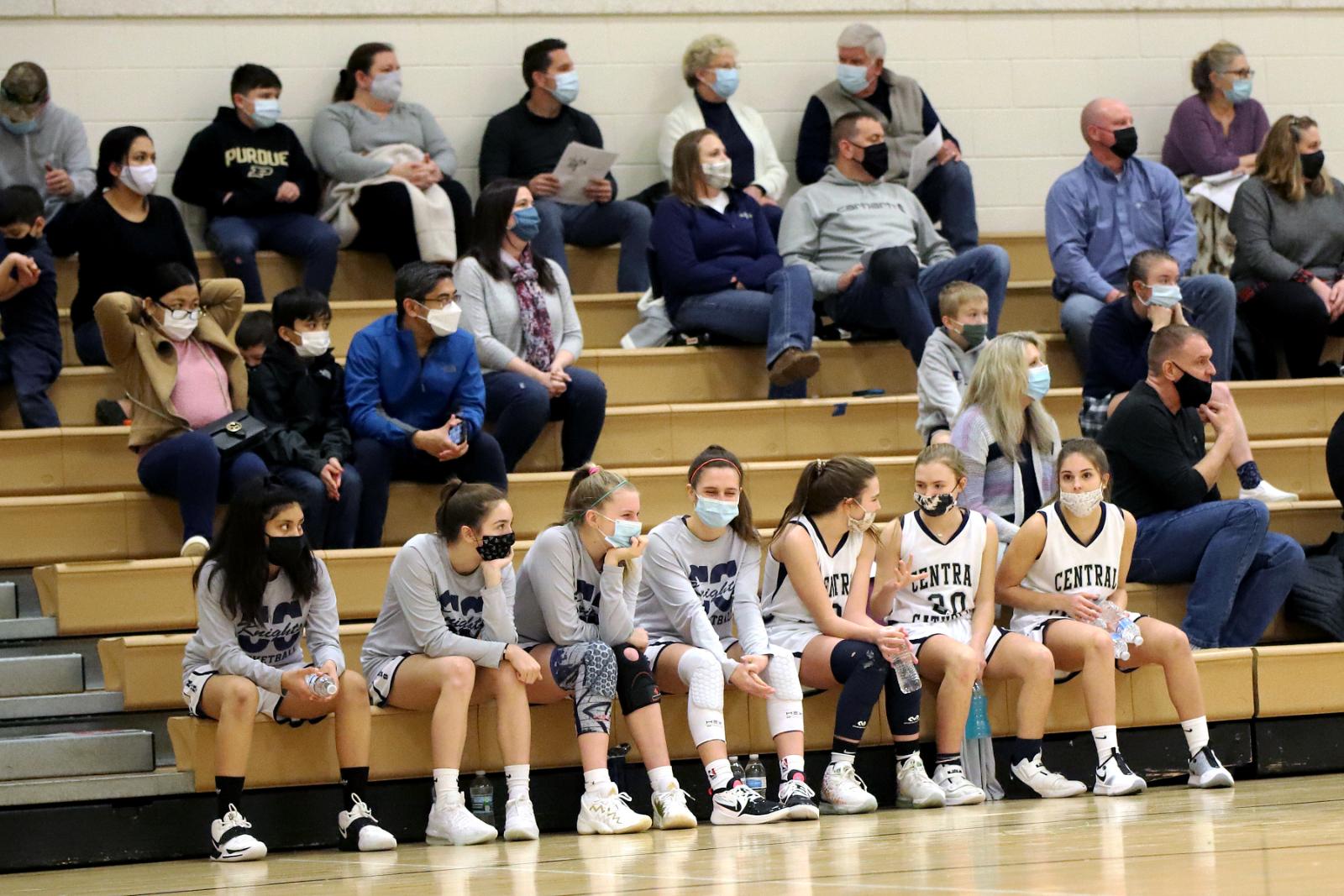 CC 8th Grade Girls Basketball vs Southwestern 2-25-21