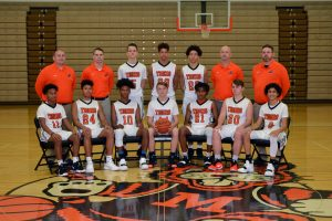 2018-2019 JV Basketball Team