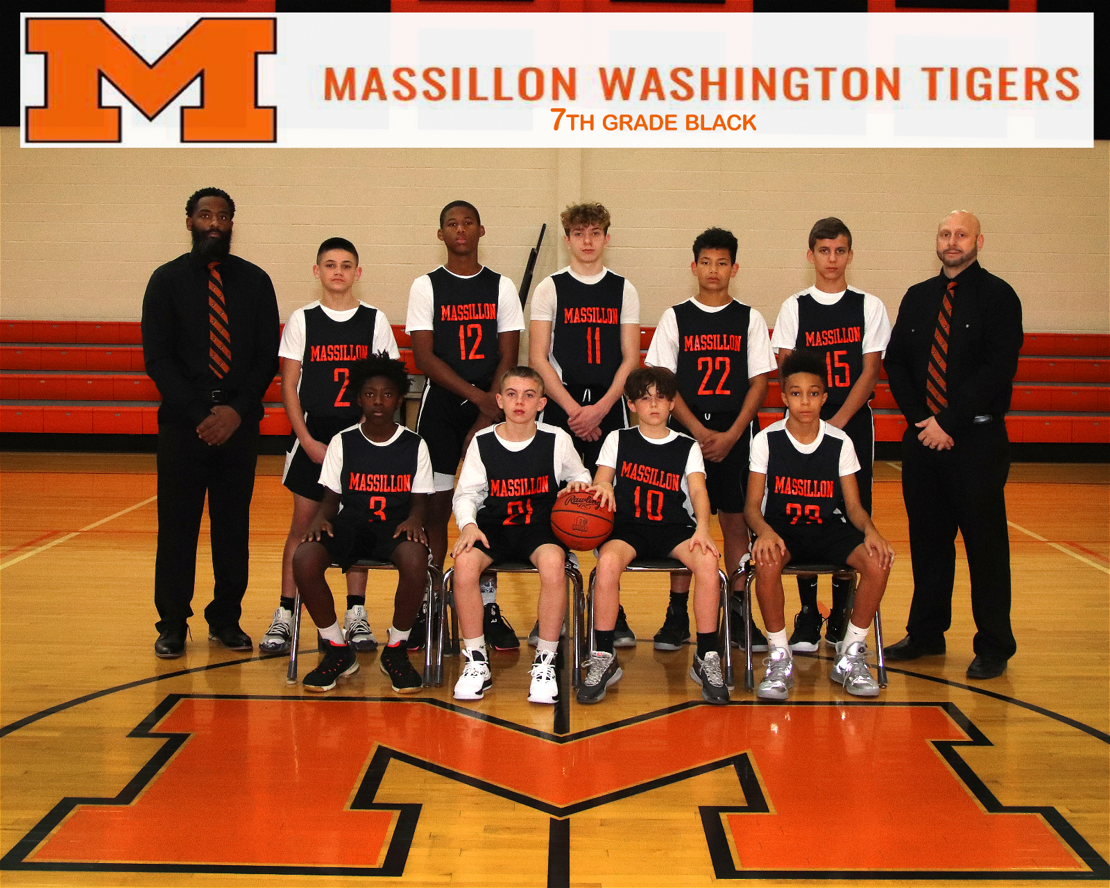 Massillon Junior High 7th Grade Black