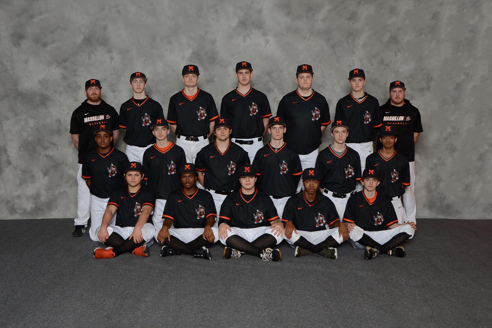 Boys Junior Varsity Baseball, 2020