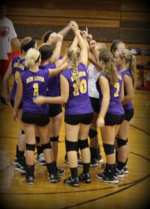 Photo Gallery, JV Volleyball vs. Bishop Luers