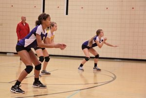 Freshman Volleyball vs. North Side Gallery