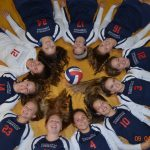 Varsity Volleyball Handles the Knights of VCC