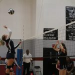 Lions Varsity Volleyball In Tough 5 Game Battle at United Faith