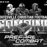 Statesville Christian Holds 3rd Annual NFL Combine