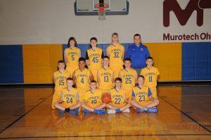MS Boys Basketball 2017-2018