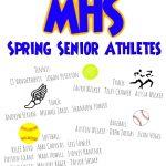 MHS Spring Senior Athletes