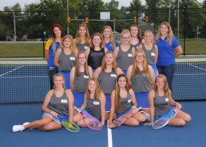 JV/V Girls Tennis Teams