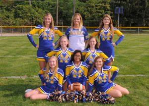 JV/V Football Cheerleaders