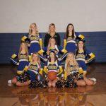 V/JV Basketball Cheerleaders