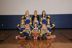 V/JV Basketball Cheerleaders