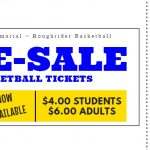 Pre-Sale Basketball Tickets