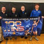 100th Win – Senior Noah Vogel
