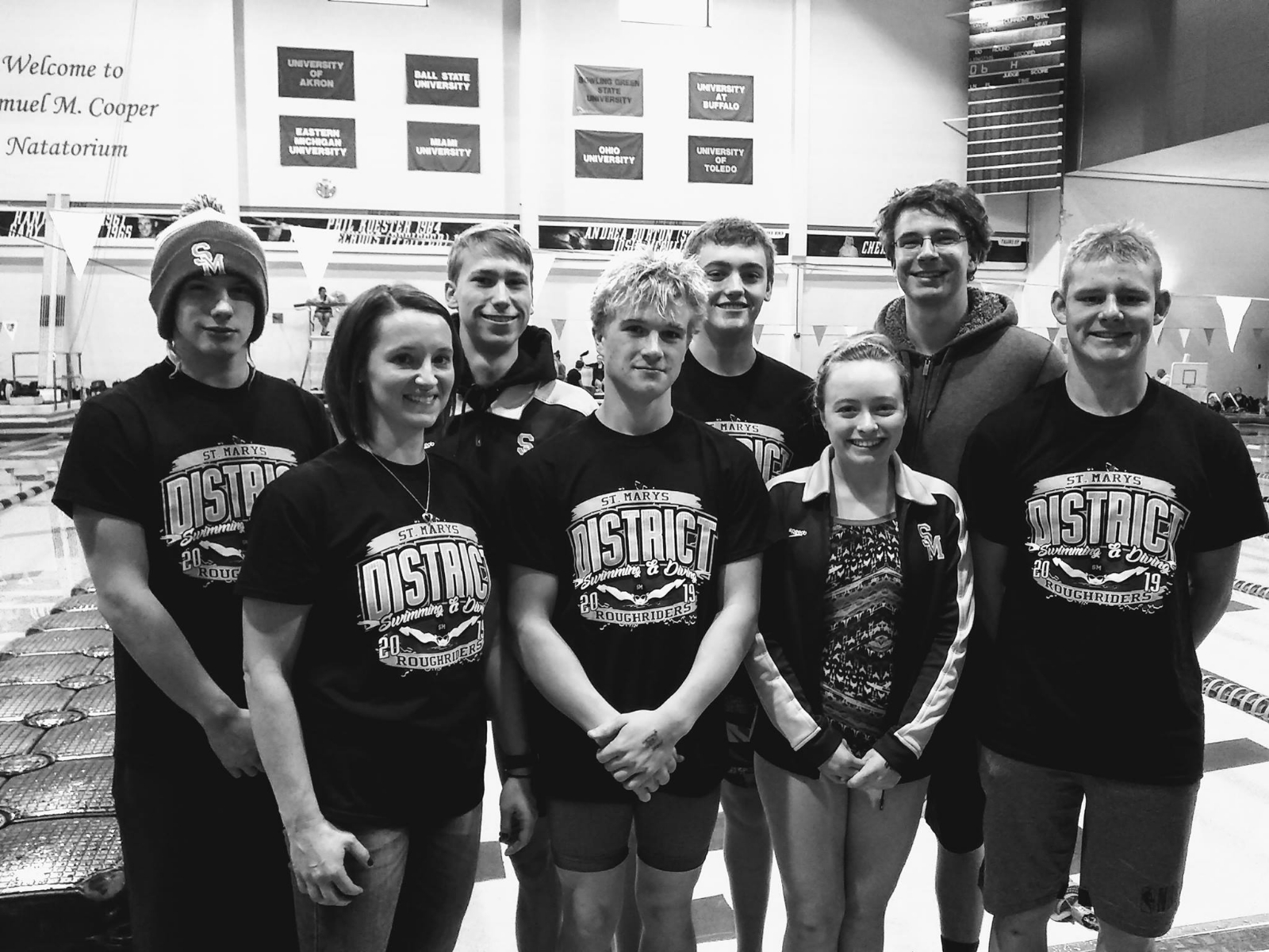 District Swim and Dive Meet