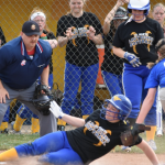 Girls Middle School Softball beats Crestview 31 – 21