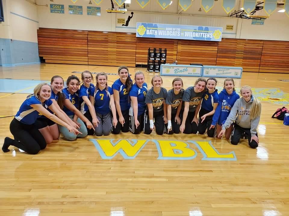 WBL CHAMPS – 8th Grade Volleyball