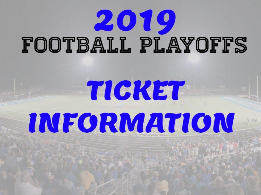 Football Playoff Ticket Information 11/15/19
