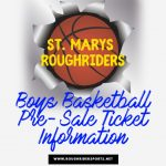 Pre-Sale Boys Basketball Ticket Information