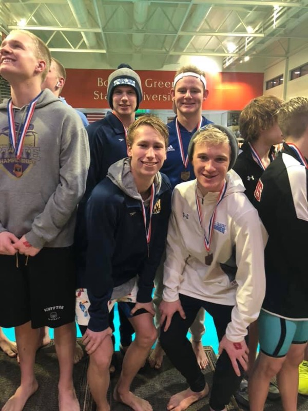 Swimmers going to STATE!!