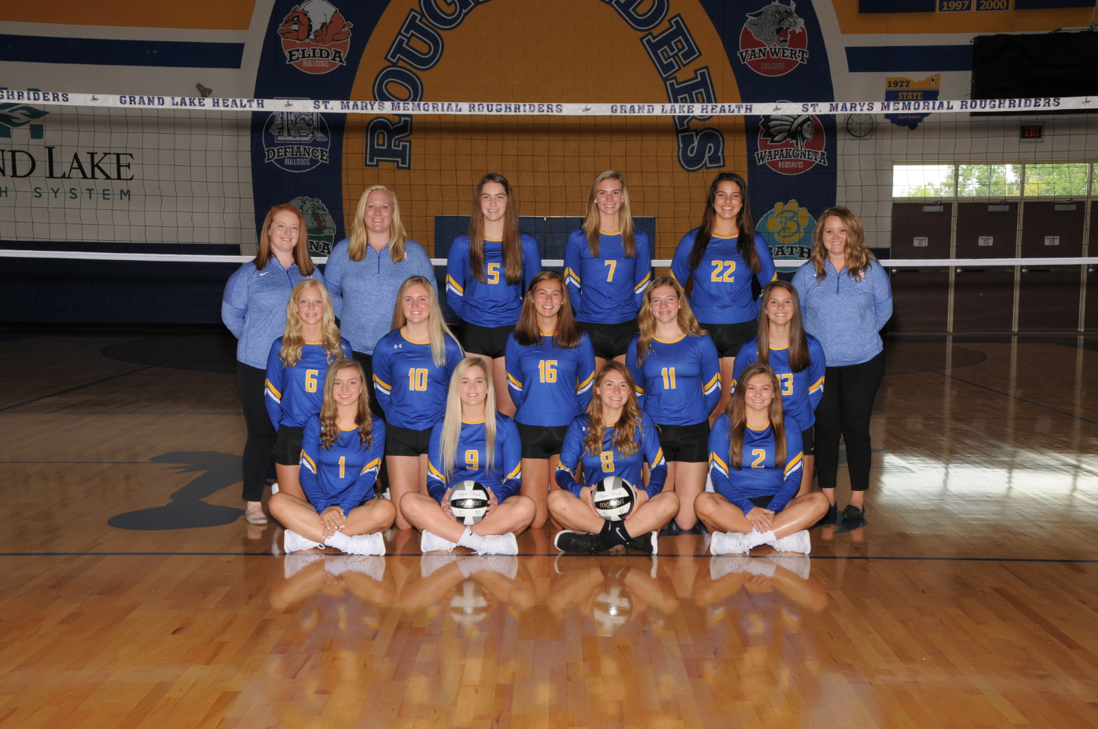 Varsity, JV and Freshman Volleyball 2020