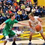Boys and Girls' Varsity Basketball vs. Triton Central 11/22