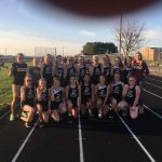Girls Junior High Track finishes 1st place at County @ Southwestern Jr. Sr. HS