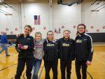 MHS Varsity Gymnastics finishes 2nd at Rushville