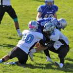 Freshman Football defeats Fowlerville