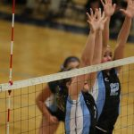 Volleyball splits in Double Dual