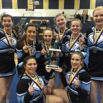 Cheer Team Wins Grand Ledge Invite, Sweeps all Divisions
