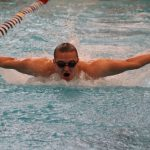 Swimmers Take Third at League Meet